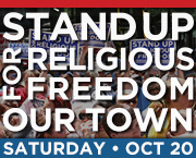 October 20 Stand Up Rally Facebook Ad