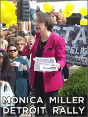 Monica Miller, Detroit Rally