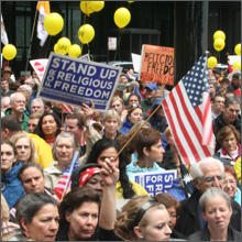 March 23 Stand Up Rally at Chicago's Federal Plaza