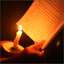 Candle-lit Prayer