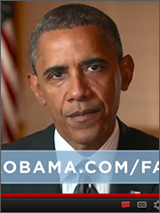 Obama web ad screenshot