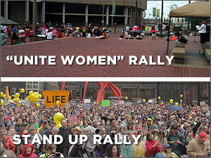 Unite Women Rally and Stand Up Rally