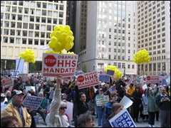 Crowd at Oct. 20 Stand Up for Religious Freedom Rally in Chicago