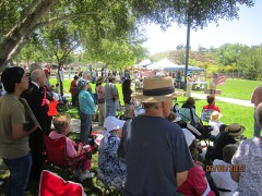 Crowd of 200 at Temecula Ca
