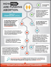 how you are funding abortion
